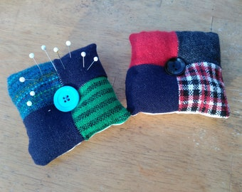 Welsh Flannel Pincushion Kit