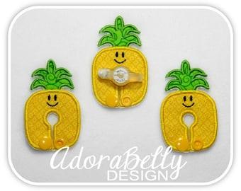 Pineapple Shape Tubie Cover (G tube Covers  Gtube Pad)