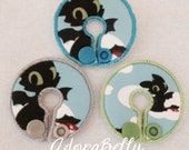 Toothless How to Train Your Dragon Gtube Covers Gtube Pads