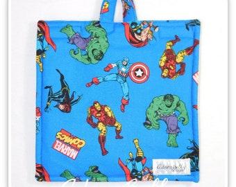 Marvel Insulated Bag Cover (Feeding Pump Bag Infinity Joey) Captain America, Hulk, Black Widow, Iron Man, Thor, Avengers