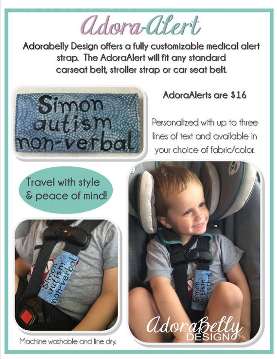 Personalized Safety Alert For Car Seats Strollers AdoraAlert