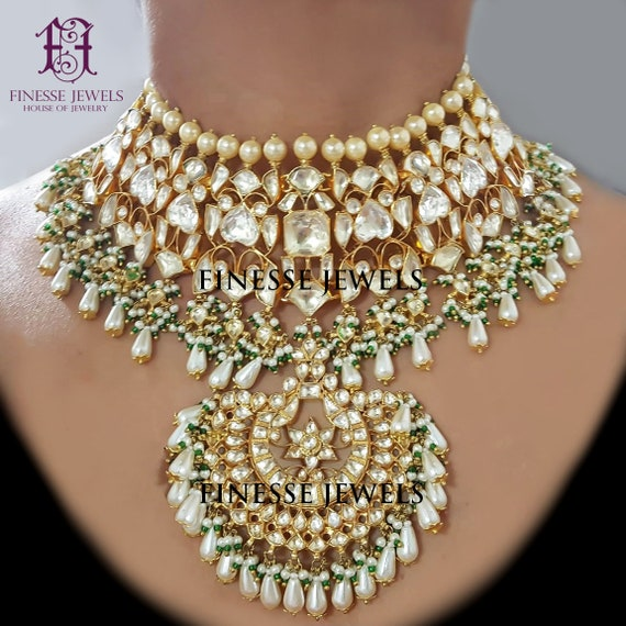 Indian Jewelry Set Sabyasachi Jewelry Indian Bridal Jewelry Etsy