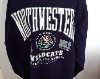 a3e04f843 Northwestern Rose Bowl 1996 College sweater size XL Wildcats