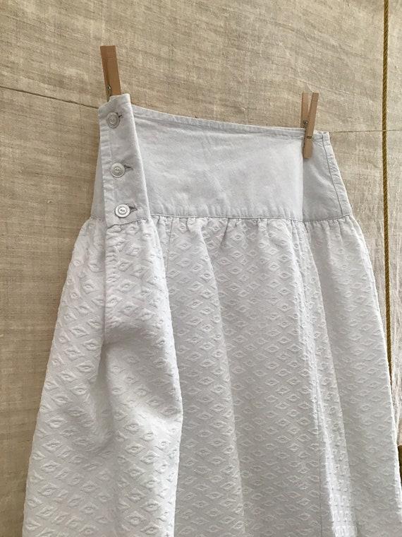 Antique/Vintage  French Petticoat Cotton Women's