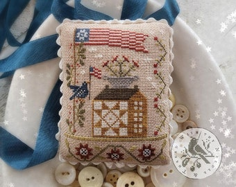 Souvenir of the Heart: Star Spangled Spectacular by Brenda Gervais With Thy Needle and Thread