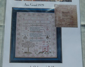 Shakespeare's Peddler Ann Grant 1829 Reproduction Sampler Chart