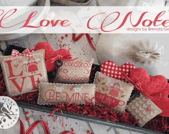 Love Notes by Brenda Gervais With Thy Needle and Thread