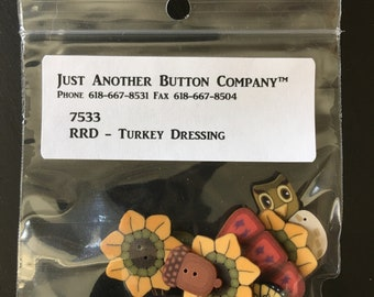 Button Pack for Turkey Dressing