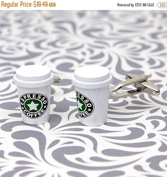 Espresso Cufflinks