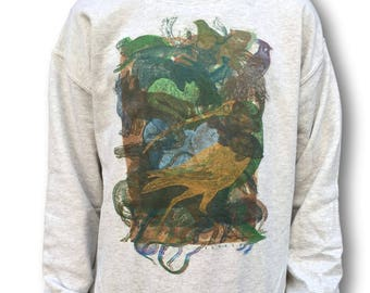 Indie Jumper, Oversized Sweater, Grunge Sweater, Glitch, Sloclo, Skate Style, Aesthetic Clothing, Instagram Style, Instagram Clothing