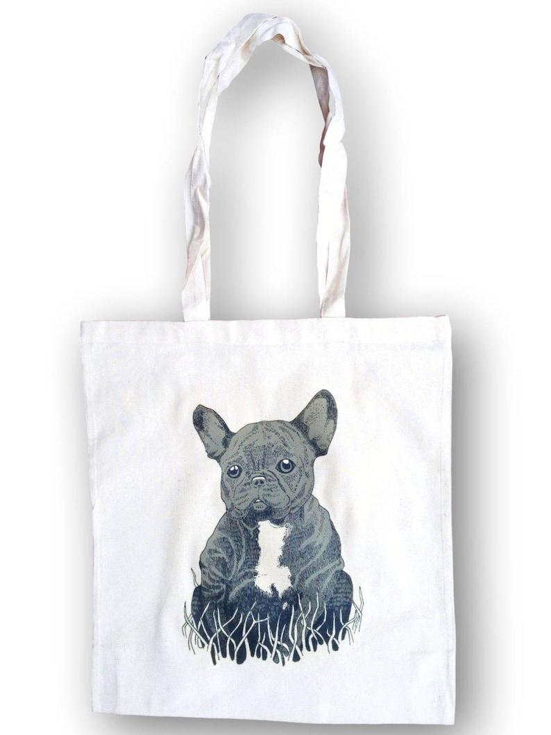 French Bulldog Bag Birthday Gift Tote Big