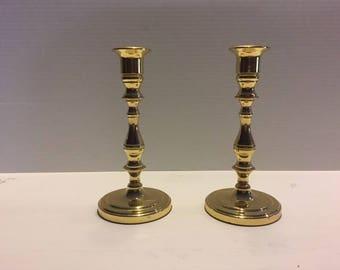 Baldwin Brass Candlesticks set of 2