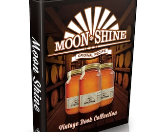 Distilling Books 108 Old Books on DVD Vintage Homebrew Moonshine Whisky Wine Alcohol