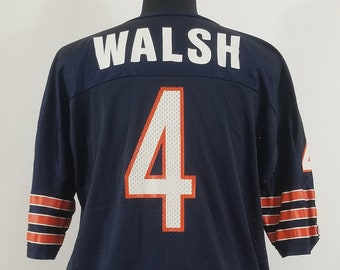 Chicago Bears Steve Walsh Vintage Champion Jersey size 48 Men s XL NFL  Football 9109d1e16