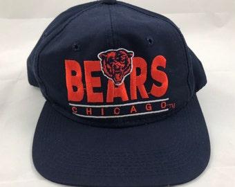eeaf6cfe Vintage bears hat   Etsy