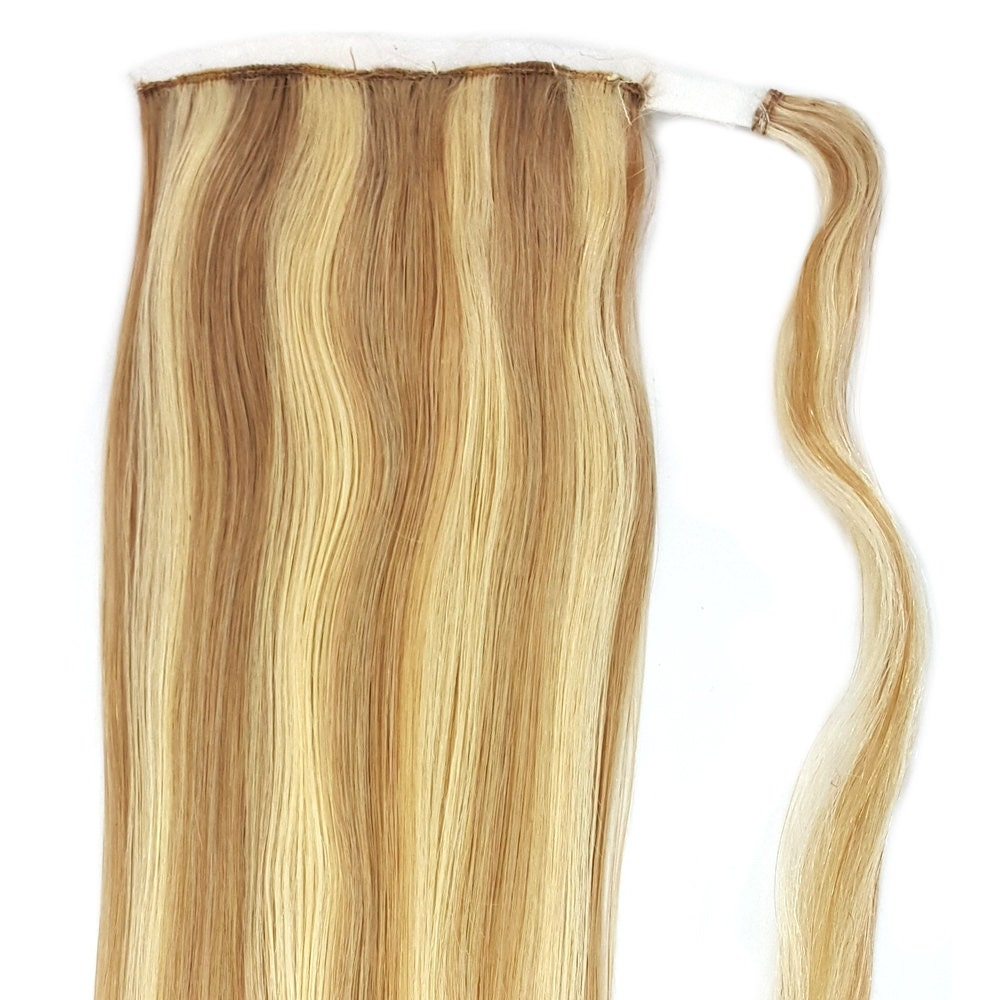 Human Hair Ponytail Extension Wrap 20 80 Grams Remy Premium Grade