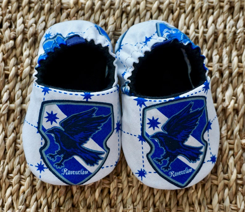 f4fe7f936 Harry Potter Baby Shoes Ravenclaw Baby Booties Soft Sole | Etsy