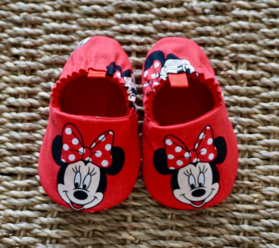 Minnie Mouse Baby Shoes Disney Shoes