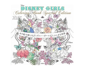 Coloriage Coloring Book Disney Special Edition Girls