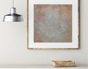 Décoration Peinture Estampe Abstrait Beige Paysage Nature Etsy