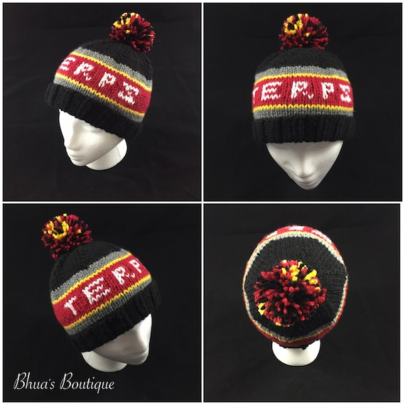 1ce9b306880e7 University of Maryland-inspired hat Terps