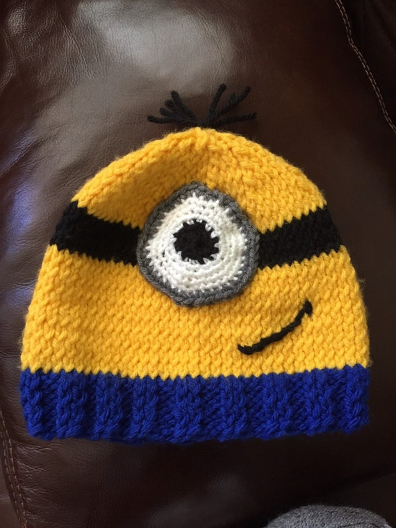 Minion Hat Stuart Minion Kevin Or Bob Minion One Eye Two