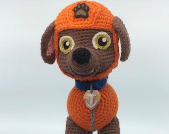 Zuma crochet pattern (English), PDF format.
