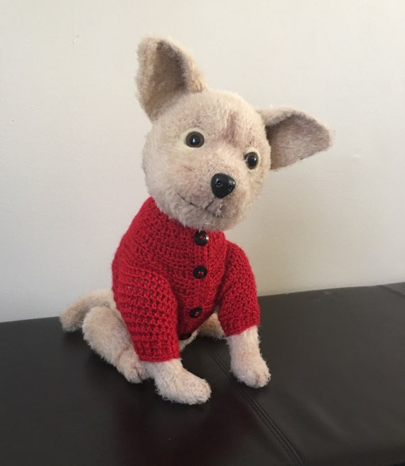 Chihuahua Hund In Pullover Häkeln Etsy