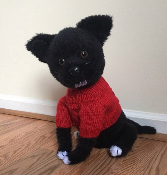 Patrón de ganchillo de perro Chihuahua PDF gratis ganchillo | Etsy