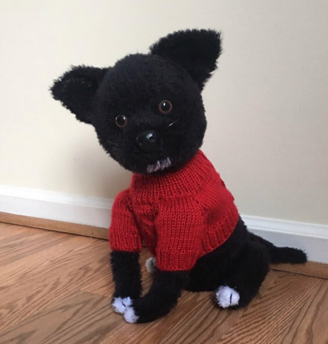 Chihuahua Dog Crochet Pattern Pdf Free Crochet Sweater Etsy