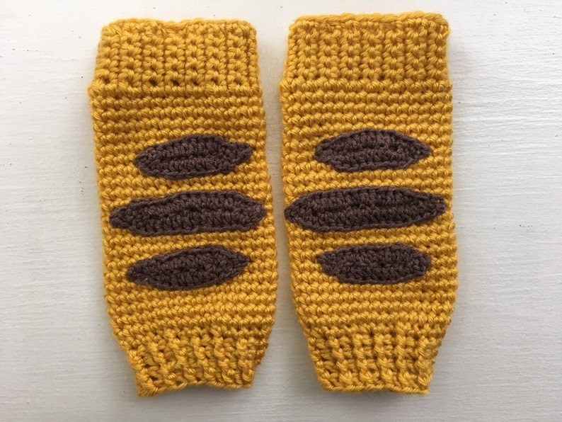 Tiger matching leg warmers and handband ears custom listing
