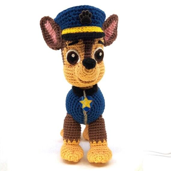 Paw Patrol Chase Crochet Pattern English Pdf Format Etsy