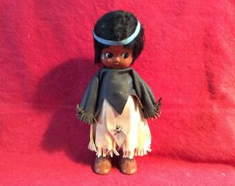 Native American child doll