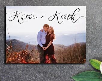 PRINTABLE Save the Date - Postcard