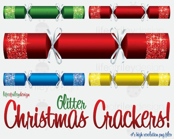 Christmas Crackers Png.Christmas Crackers Bon Bon Glitter Clip Art Png Digital Download Scrapbook Digital Paper Clip Art Vector Download