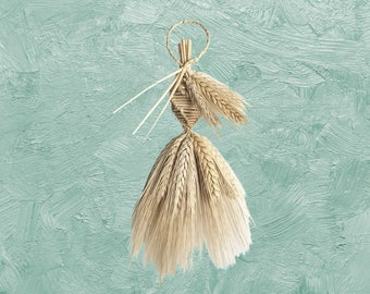 Wall Hanging - Wheat Weaving - Corn Dolly - House blessing - Twirl
