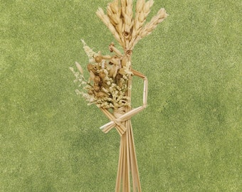 Wall Hanging - Corn Dolly - Wheat Weaving - Springtime Maiden