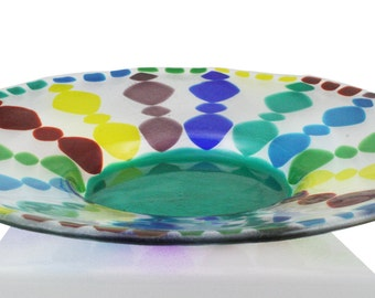 Color Wheel Dish
