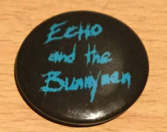 Echo And The Bunnymen Vintage Pin Badge