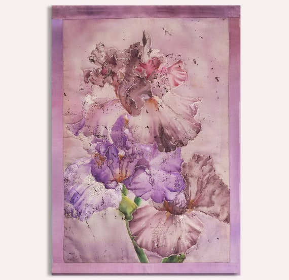 Batik Art Painting Flowers