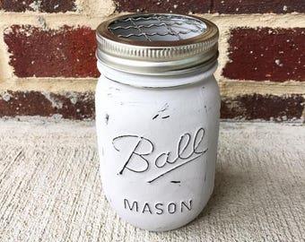 Mason Jar Accessory Holder