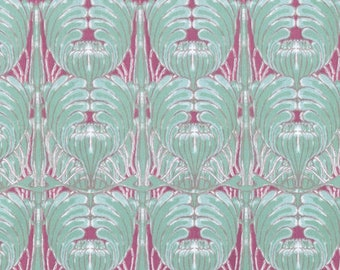 ART FABRIC - Tina Givens, Rose Water, Modern Sister, Blue Sister, Westminster Fibers, Free Spirit