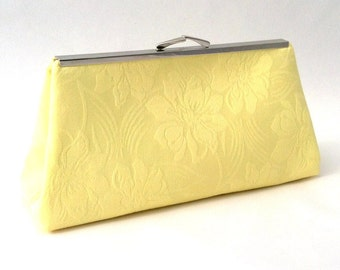 Yellow Clutch Etsy