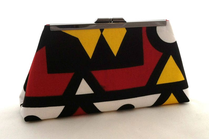 d7a1fe2b779d Colorful African Purse Kente Clutch Summer Wedding Handbag