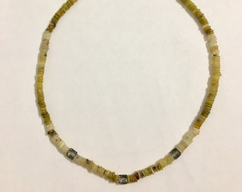 African Opal Necklace