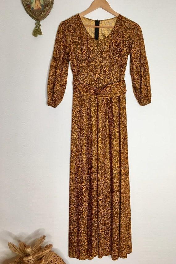 Vintage boho long dress