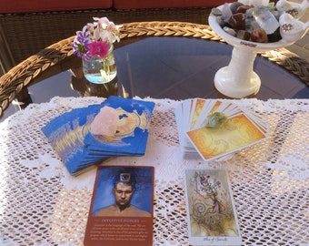 Personalized 2 Card Tarot and Oracle Reading Psychic Divination Spiritual Guidance