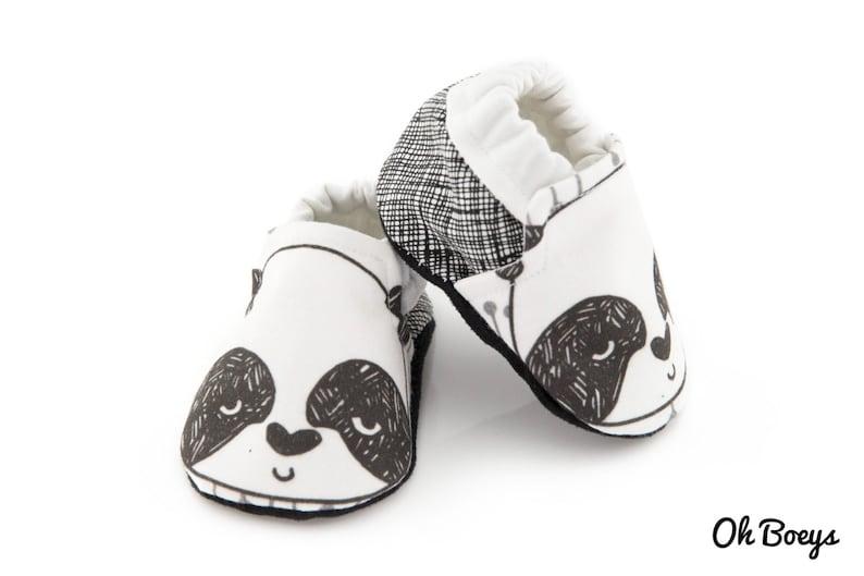 Baby Soft Sole Shoe  Panda image 0