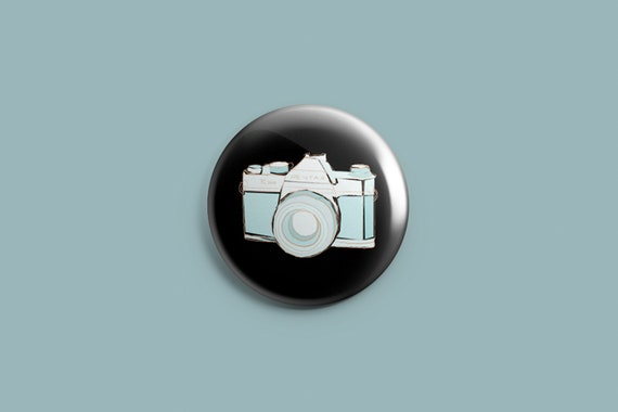 I LOVE PHOTOGRAPHY 25mm Button Badge 1 inch Novelty Cute Camera