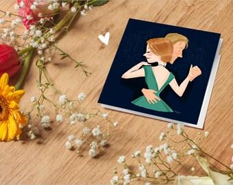 La La Land - Illustration - Card